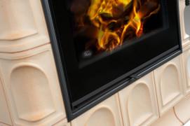 Kachlová kamna Hein BARACCA 3 TV - teplovodní výměník