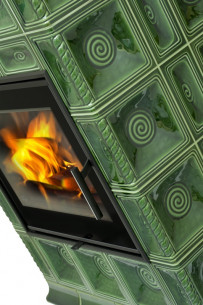 Kachlová kamna Hein BARACCA 4 TV - teplovodní výměník