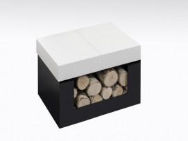 Kachlová kamna Hein DOLO 1 s lavicí